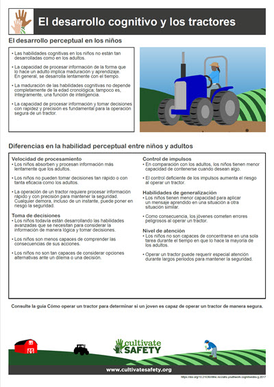 Click here to open the Cognitive Development and Tractors PDF in Spanish.
