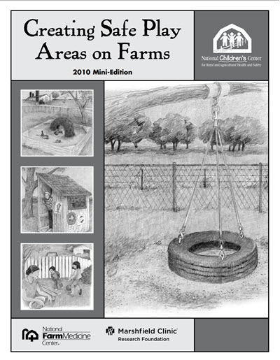 Click here to open the Creating Safe Play Areas on Farms Mini Edition PDF in English.