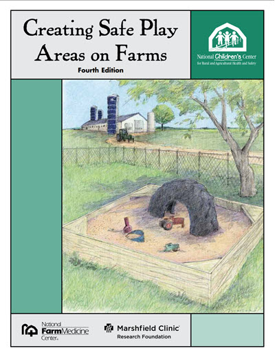 Click here to open the Creating Safe Play Areas on Farms PDF in English.