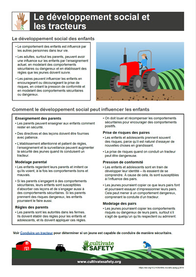 Click here to open the Social Development and Tractors PDF in French.