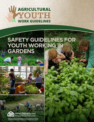 Click here to open Youth Working in Gardens PDF in English.